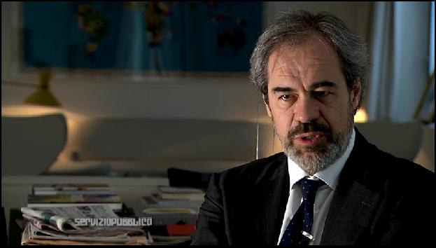 Intervista di Servizio Pubblico a Claudio Costamagna