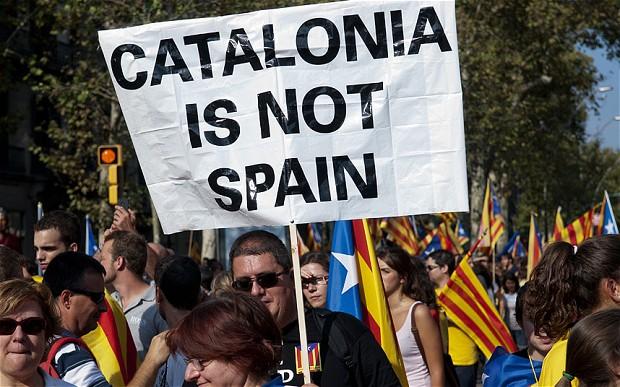 Crisi in Spagna: la catalogna chiede l'indipendenza dal governo di Madrid