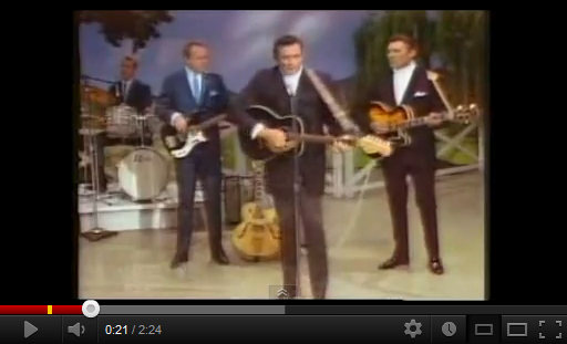 "Video di Johnny Cash, ""The Ring of Fire"""