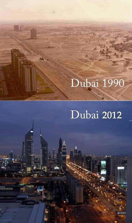dubai 1990-2012
