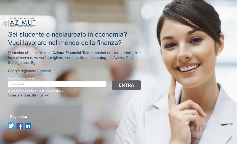 azimut financial talent