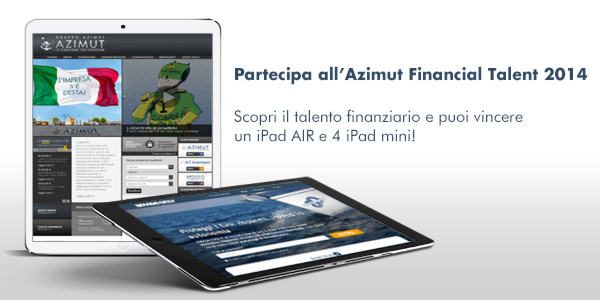 vinci un ipad con l'azimut financla talent