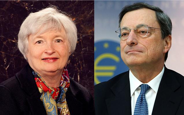 fed rinvia aumento tassi e ipotesi mini QE della Bce