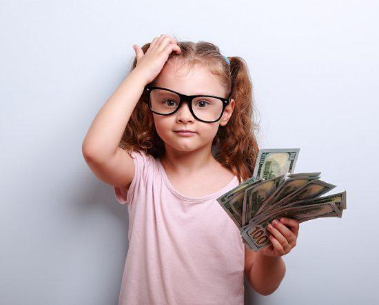 genitori figli e finanza